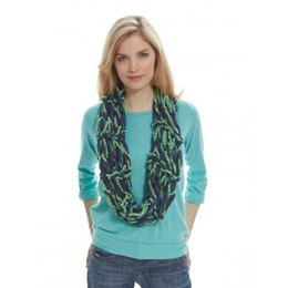 Garter Stitch Arm Knit Cowl in Patons Classic Wool Worsted and Delish