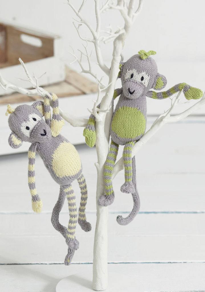 Monkey Knitting Patterns | LoveKnitting