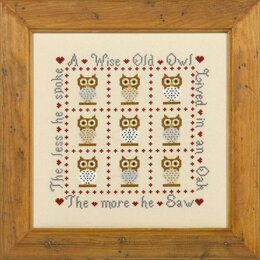 Historical Sampler Company A Wise Old Owl Cross Stitch Kit