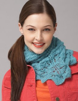 Chevron Lace Shawl or Scarf in Patons Lace
