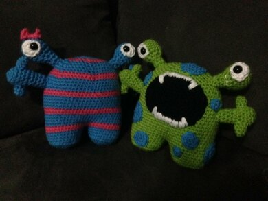 Bonnie and Clyde - Crochet Monsters