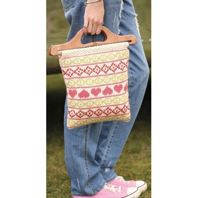Fairisle Project Bag