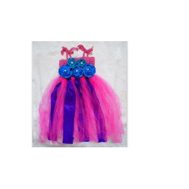836 TUTU DRESS, FLOWER, HEADBAND