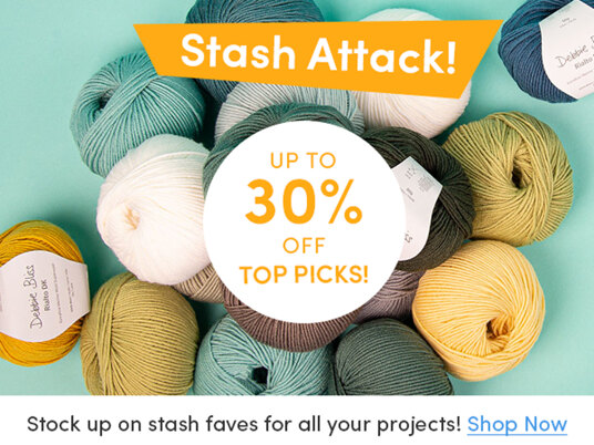 Stash Attack! Up to 30 percent off top picks!