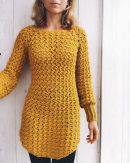 Minerva Tunic, Sweater, Dress, Cropped top