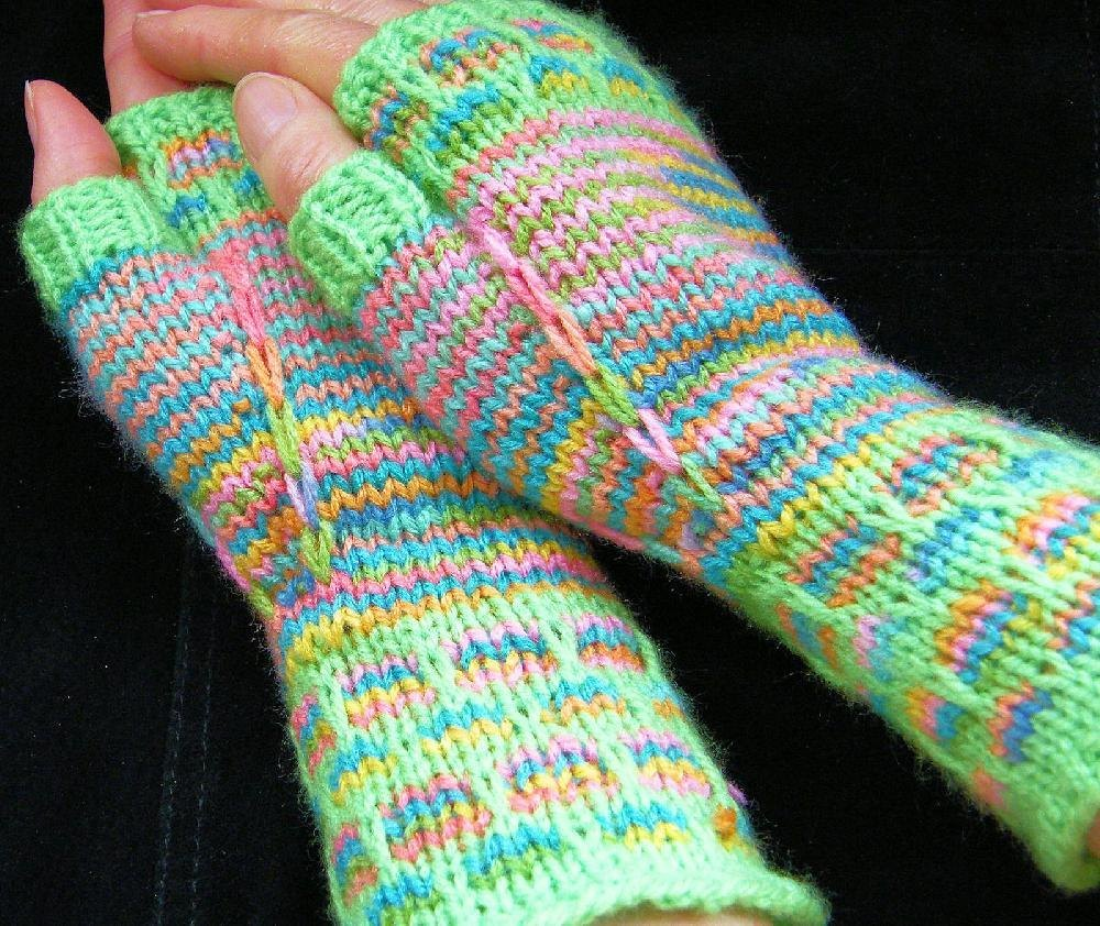 Contented hands Knitting pattern by ImpeccableKnits Knitting Patterns Lov...