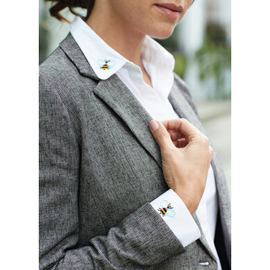 5TH Avenue - Bee Shirt in Anchor - Downloadable PDF