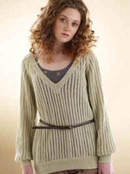 Rowan Slouchy Lace Sweater in Rowan Wool Cotton 4 Ply