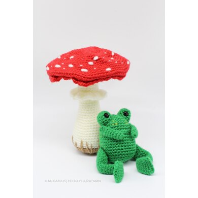 Forrest the Frog and Mushroom
