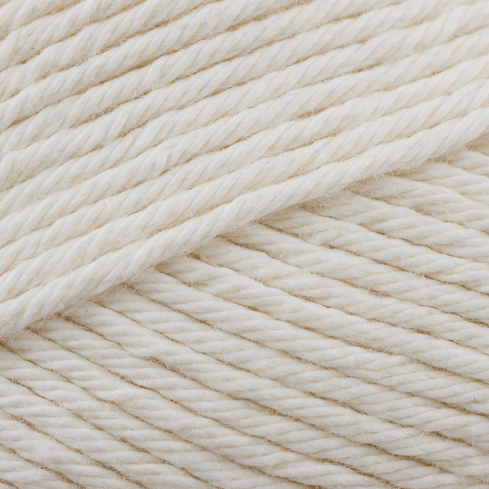 Stylecraft Classique 100/% Cotton Double Knitting Wool Yarn 3665 Ivory
