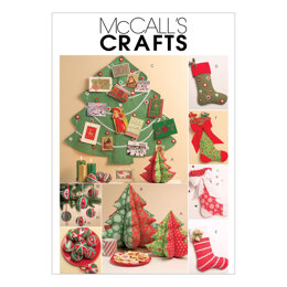McCall's Holiday Decorations M5778 - Paper Pattern Size One Size Only