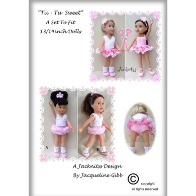 LC13 Tu-tu Sweet Set for 13 and 14 inch Dolls