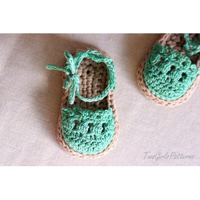 Baby Sandals Espadrille Shoe Booties
