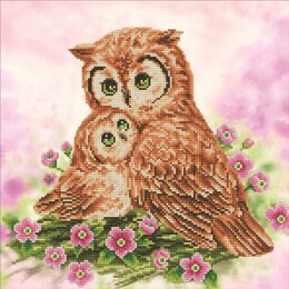 Diamond Dotz Mother & Baby Owl Diamond Dotz Kit