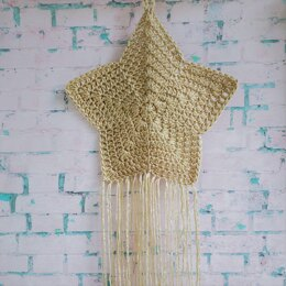 Boho Star Wall Hanging