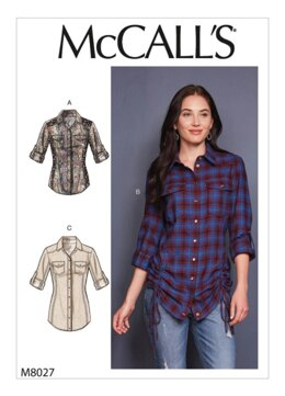 McCall's Misses' Tops M8027 - Sewing Pattern