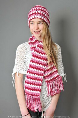Mod Scarf (3 sizes: toddler, child, teen/adult)