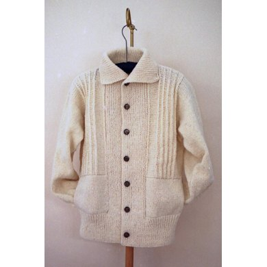 MS 101 Ribbed Coat Jacket