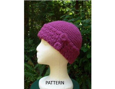 Cute and Sophisticated Cap - PA-111 (crochet)