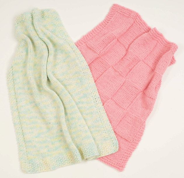 Baby Bamboo Blanket Pattern: Fast Baby Blankets In Plymouth Encore Worsted And