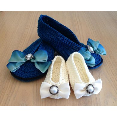 Mommy & Me Ballet Slippers PDF12-089