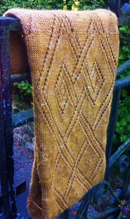 Celtic Lace Infinity Scarf