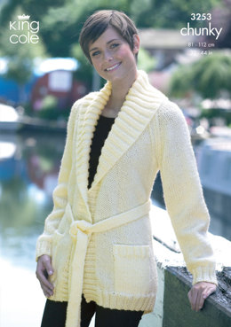 Jackets in King Cole Big Value Chunky - 3253