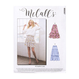 McCall's Misses' Skirts M8097 - Sewing Pattern