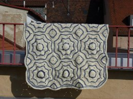 Dutch Tiles Variation - Realta Afghan