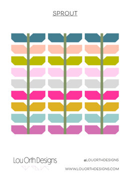 Sprout quilt pattern