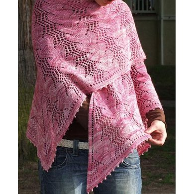 Waves in the Square Shawl