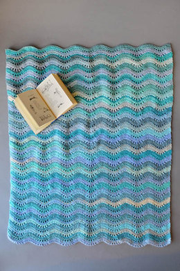 Inchworm Baby Blanket in Universal Yarn Major - Downloadable PDF