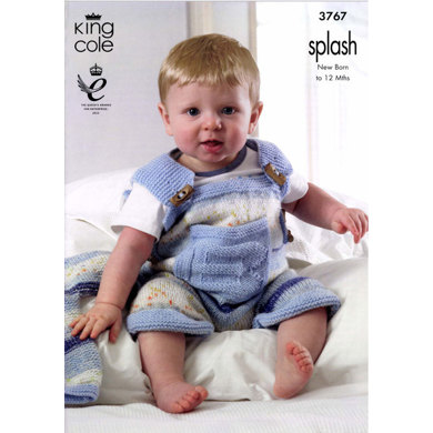 Baby Set in King Cole Splash Baby DK and Big Value Baby DK - 3767