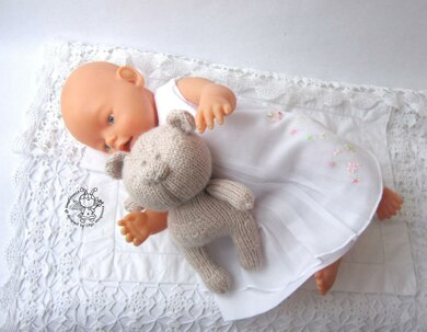 Toy for sleep. Bear for small babies