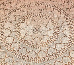 Valentine Design Shawl Tablecloth or Blanket