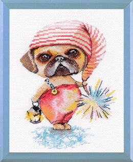 Oven A Little Gnome Cross Stitch Kit - Multi