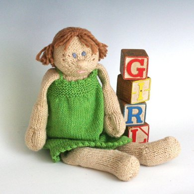 G is for Girl (a soft doll)