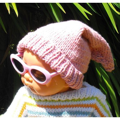 Baby Pink Pixie Hat