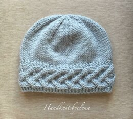 Hat with a Fancy Braid on the Border