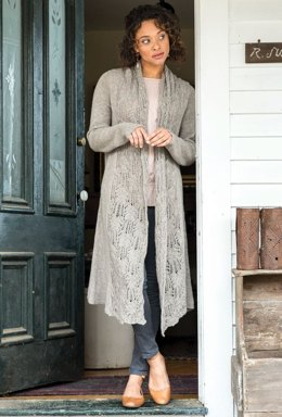 Abayomi Coat in Berroco Quechua - 389-4 - Downloadable PDF