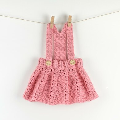 Cute Crochet Baby Dress Peony Twirl Crochet Pattern By Croby Patterns