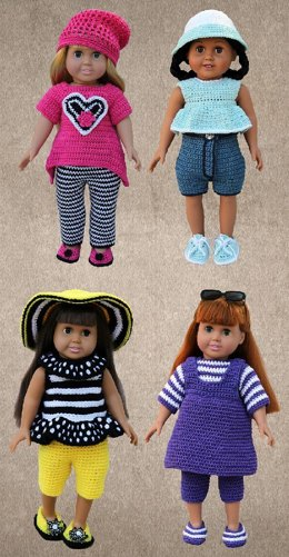 Play Clothes for American Girl 18 Inch Dolls