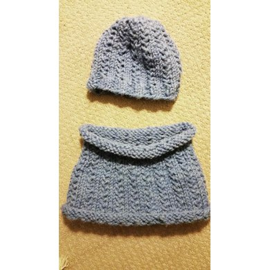 Easy Grasslands Cowl and Hat