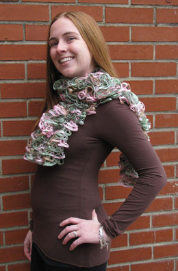 Cakewalk Scarf in Rozetti Marina