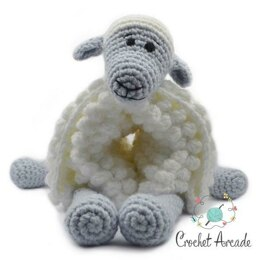 Cuddle and Play Sheep Crochet Blanket King Cole Comfort Chunky