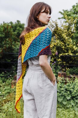 Parallel Lines Shawl