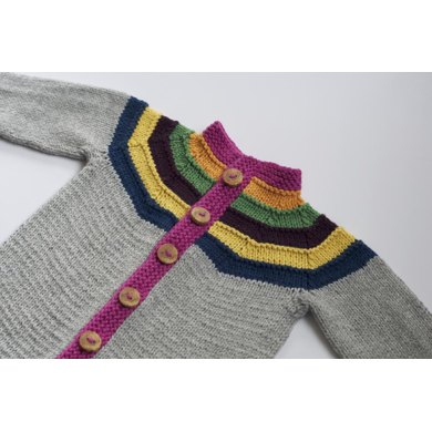 Right as Rainbow Baby Cardigan
