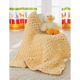 Puffy Baby Blanket in Bernat Baby Blanket