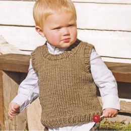 Li'l Man Vest in Spud & Chloe Outer - 9207