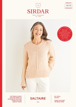 Sweater in Sirdar Saltaire - 10175 - Downloadable PDF